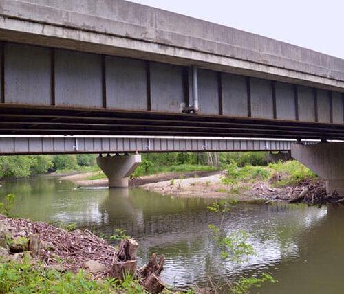 Ohio I-71 interstate bridge