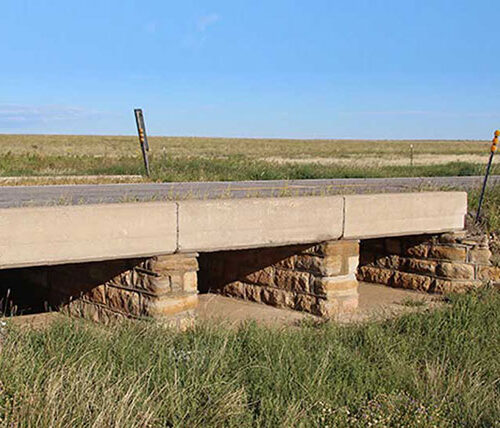 Multi-span bridge on Oklahoma Depression-Era Bridges Inventory