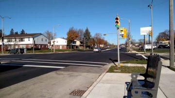 Pedestrian friendly measures in non urban areas