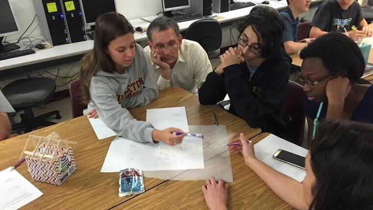 Don Koppy mentoring