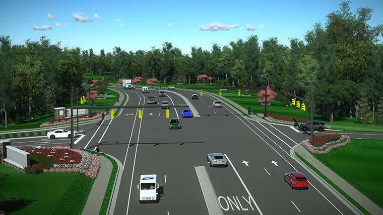 S-48 corridor improvements