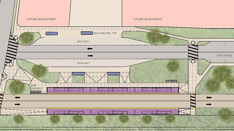 SMRT planning map