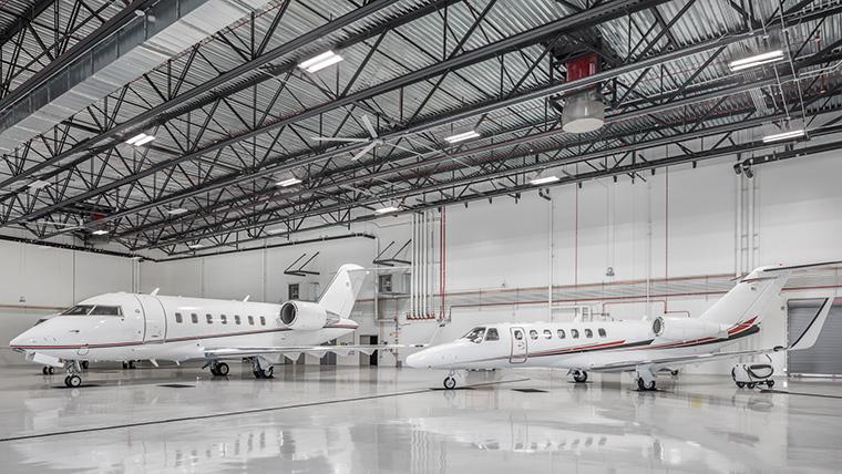 Scottsdale-Airport-Hangar