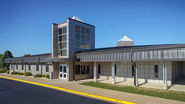Exterior of Southwest Technical College