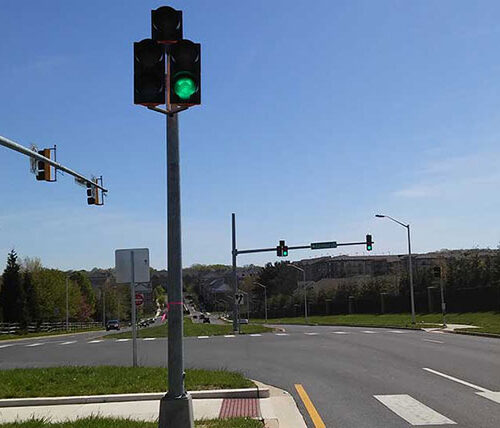 on-call traffic engineering traffic signals at intersection