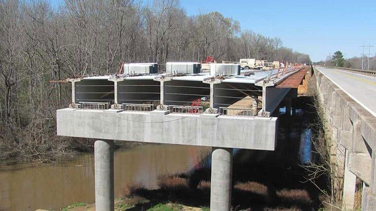 Construction on US 601 bridge