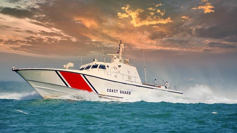 US Coast Guard boat