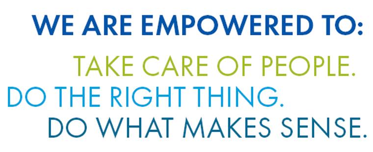 Employee empowerment statement