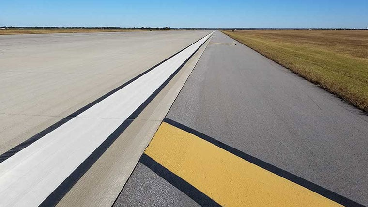 Vance AFB runway and taxiway