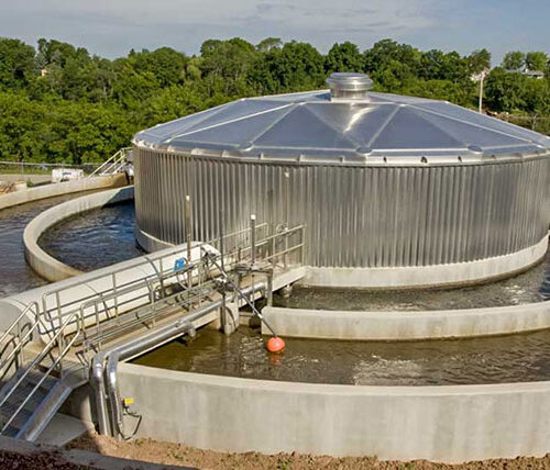 Wrightstown Wastewater facility