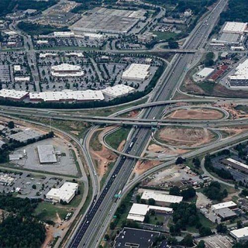 I-85 and I-385 design-build widening