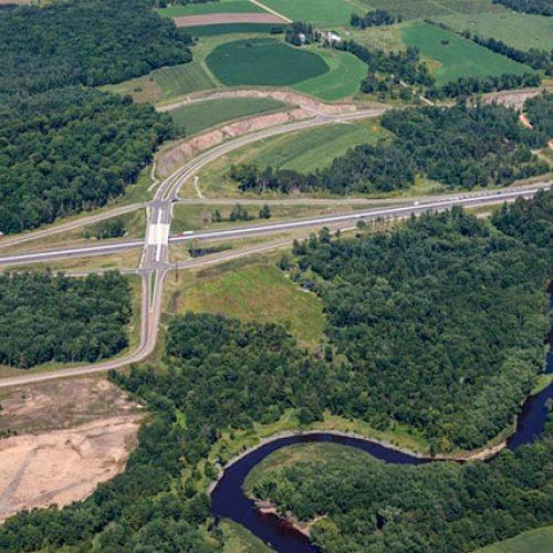 Wisconsin Highway 29 Roadway and Bridge Design