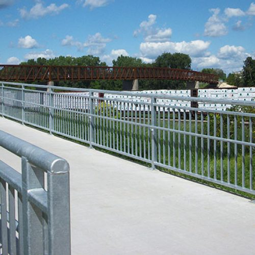 Bud Hendrickson Memorial Bridge deck