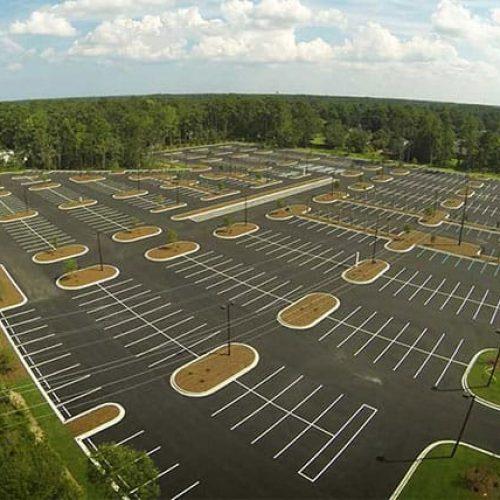 Coastal Carolina University parking lot