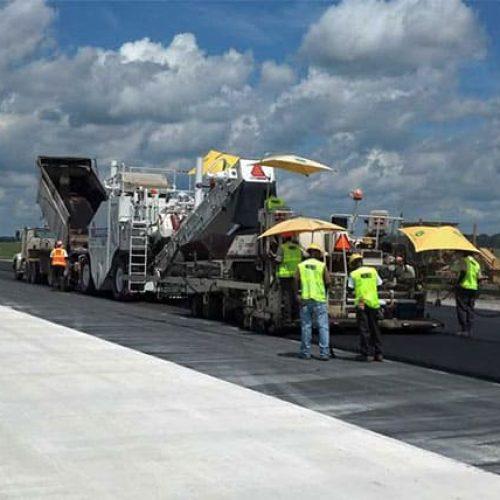 Columbus Air Force Base Runway Reconstruction