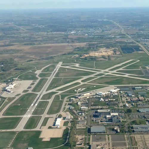 Aerial of Dane County Airport