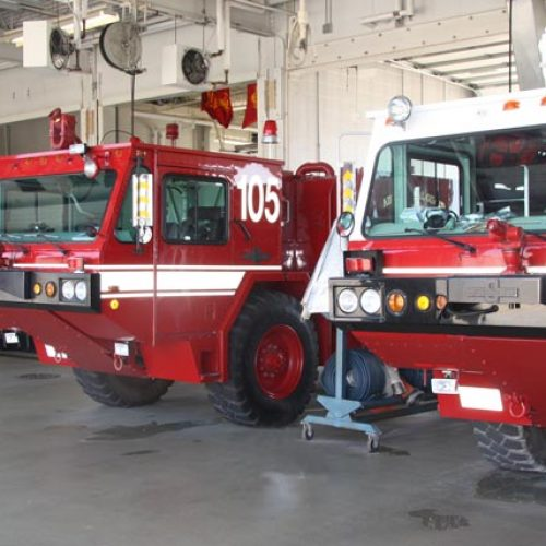 General Mitchell ANGB Fire Station interior