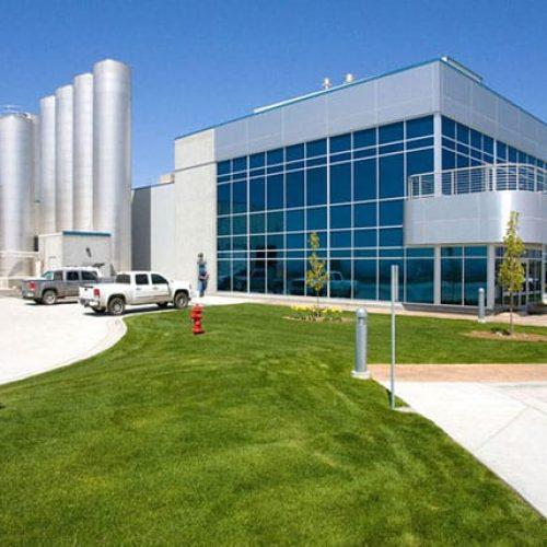 Jerome, Idaho milk production facility exterior