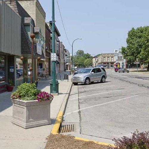 Downtown Lake Mills, WI