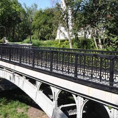 Lake Park Historic Bridge Railing