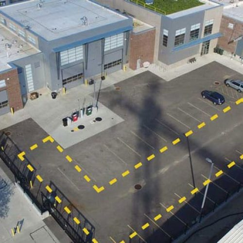 Madison water utilities site development