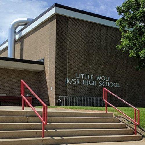 Little Wolf Jr/Sr High school exterior