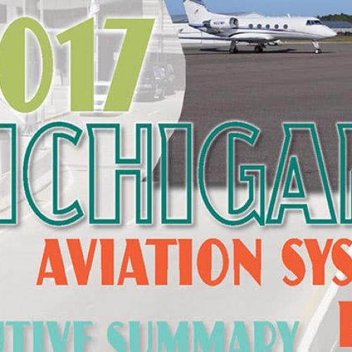 2017 Michigan Aviation System Plan cover
