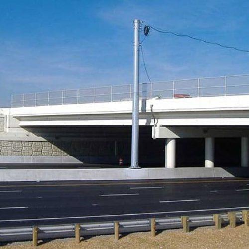 Ohio Interstate 75 bridge and highway