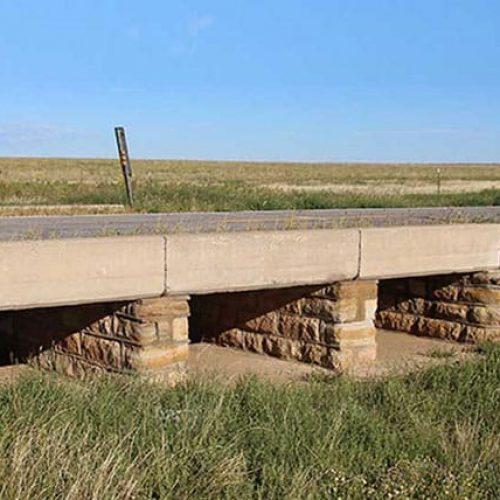Multi-span bridge on Oklahoma Depression-Era Bridges Inventory