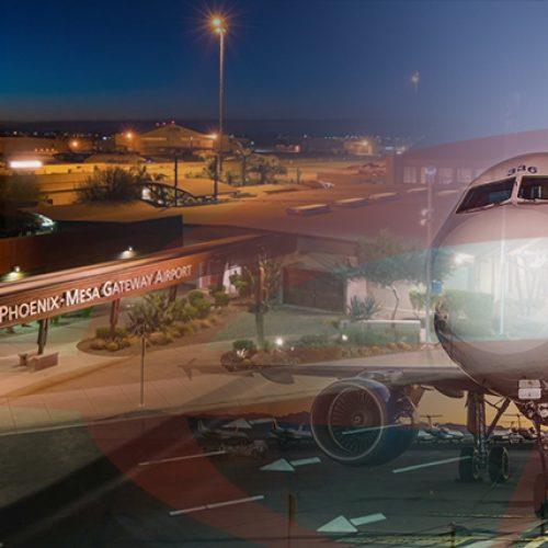 Phoenix-Mesa Gateway Airport collage