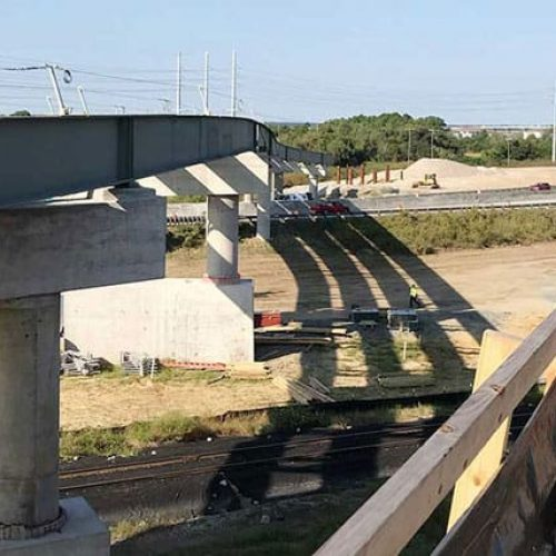 Port Access Road construction inspection