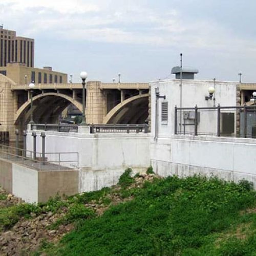 Exterior of St Paul pumping plant