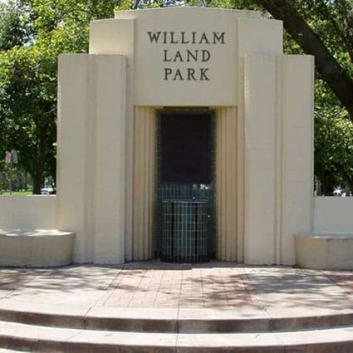 Entryway to William Land Park