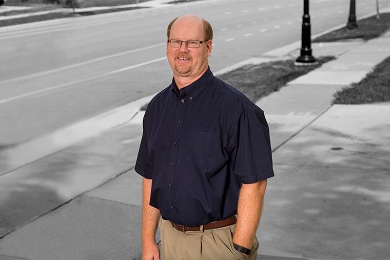 Scott Brosteau, Municipal Department Manager